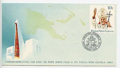 Papua New Guinea stationery envelope used 1984 (H374)