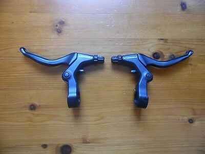 Bike/Cycle Complete Full Set Of Brake Levers,Brand Promax,Black,Front &Rear,Used