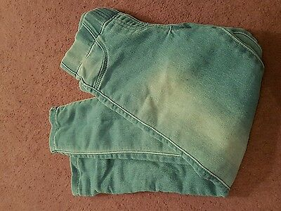 Girls blue jeggings age 7-8  Years