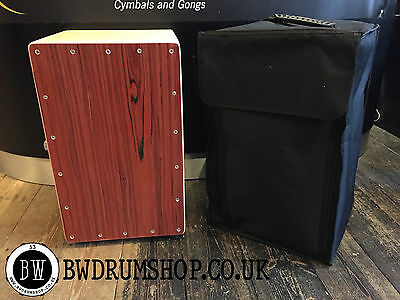 BW Drum Shop Cajon - With adjustable Snare wires - Inc Case