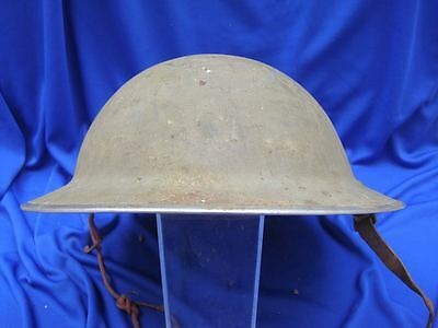 Antique Dated 1940 Wwii Vintage British Army Brodie Helmet Untouched