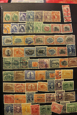 Guatemala Large Old Time Collection Of Mint & Used Stamps ~Many Better~~