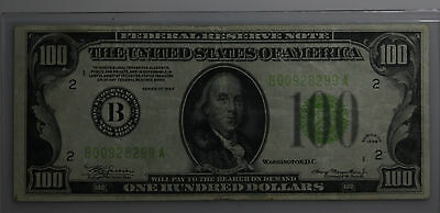 1934 $100 Federal Reserve Note, Very Nice Condition