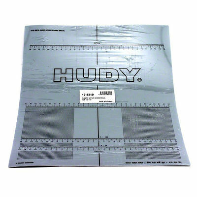 Hudy Plastic Set-Up Board Decal For 1/8, 1/10 DY108210