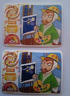 Yoyo Bear's Time Travel Card Stop 62 - Hospital Room France Two Different Texts
