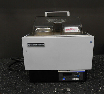 Fisher Scientific 5L-N Isotemp Water Bath W/thermometer Clamp