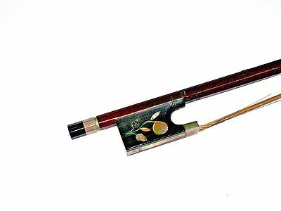 Vintage Old Inlaid Violin Bow for Repair