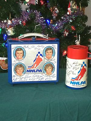 Lunch Box And Thermos 1976 NHLPA