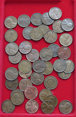 COLLECTION LOT UNITED STATES 1 CENT 41pc 124g  #xxi 016