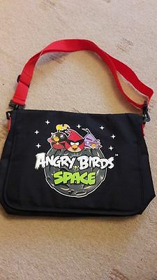 M & S Angry Birds Space shoulder School  bag  Never used