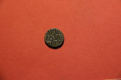 India Princely States Old Coin A47 #124
