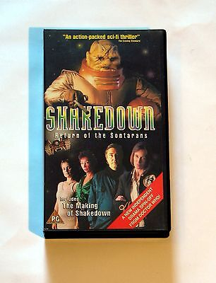 Shakedown - Return of the Sontarans RARE VHS Video Dr Who Spin-off Drama