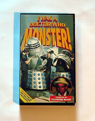 I was a Doctor Who Monster VHS Video Sylvester McCoy