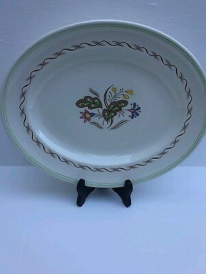 """Royal Doulton Made In England Vintage Woodland Oval  Platter Dish  13"""""""