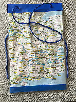 Waterproof Map Case / Cover / Holder with Neck Cord