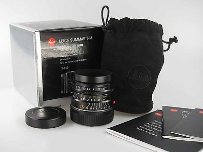 Leica 11643 6 Bit Summarit M 2,5 35  in der OVP  MINT