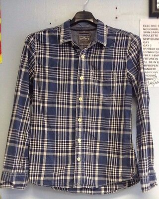 Blue Check Shirt from Fat Face Size Small
