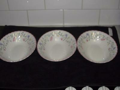 Johnson Bros Brothers China 'Summer Chintz' Made  England 3 Oval Serving Bowls