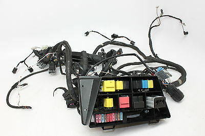 2004 BMW R1150RT ABS Main Wiring Harness Fuse Box (4 PARTS ONLY)