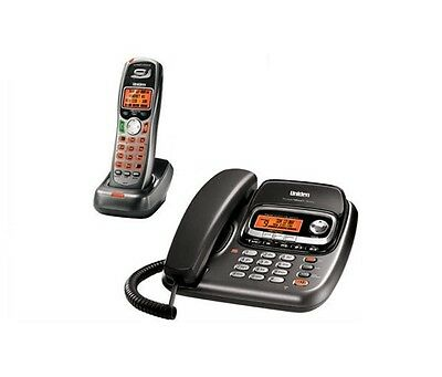 Uniden TRU9488 Corded/Cordless Phone w/Cordles Handset & Answering System - USED