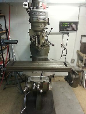 Bridgeport Milling Machine - With Readout