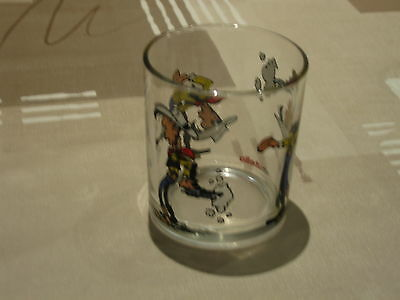 Ola !!  Lucky Luke : ( Limonade )Glas  !!  Enig En Uniek !!!! Must See !!