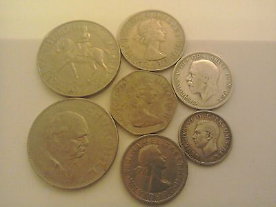 Collection of UK Coins.