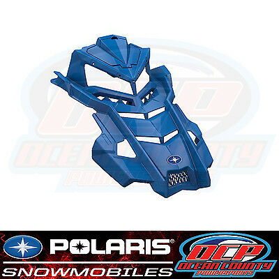 New Pure Polaris Snowmobile All Axys Models Oem Factory Blue Painted Hood