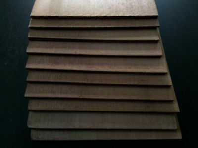 10 x AA WESTERN RED CEDAR THIN TOPs FOR CLASSICAL OR ACOUSTIC GUITAR