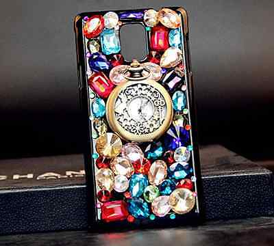 Vintage pocket watch luxury hard Case cover for Samsung Galaxy S7 X-06