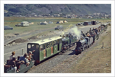ra 010 Fairbourne Miniature Railway steam loco locomotive engine train photo