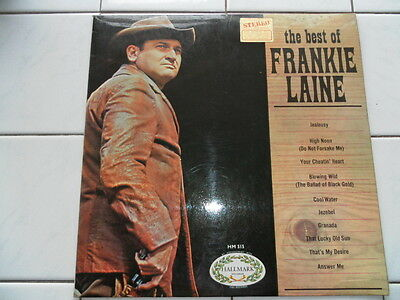 "The Best of Frankie Lane 12"" Vinyl Record"