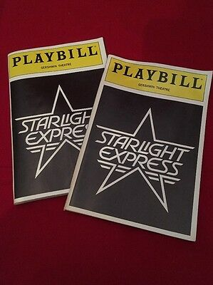 Playbill + Starlight Express + Jane Krakowski , Janet Williams Adderley, Ken Ard