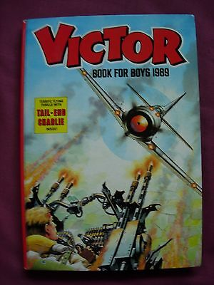 The Victor Book for Boys 1989 Annual Unclipped D.C. Thomson VFN