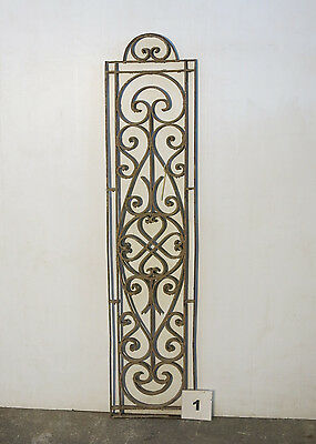 Antique Egyptian Architectural Wrought Iron Panel Grate (IS-001)