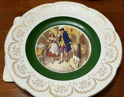 Vintage Wood and Sons Ascot Service Plate Cries of London Who'll buy my Lavender