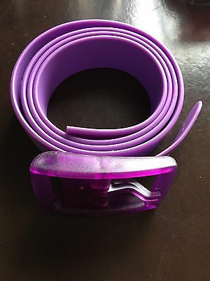 New Authentic Unisex Purple C4 Belt
