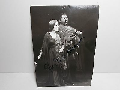 Authentic Signed  Photograph  Anne Marie Blanzat French Opera Singer