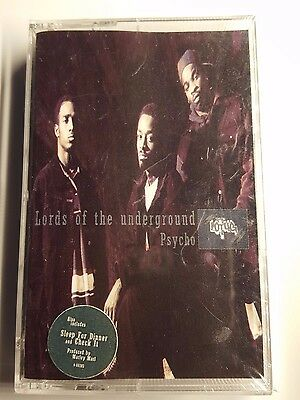 Lords Of The Underground - Psycho - Original Tape - Maxi - Still Sealed - 1992