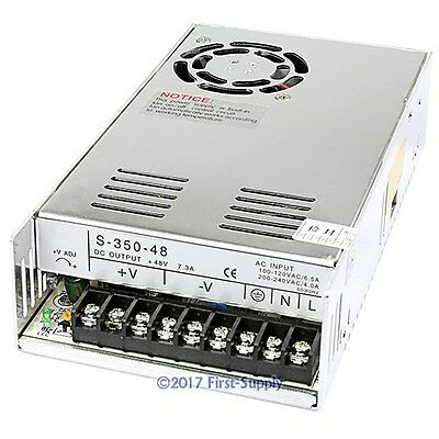 48V 7.3A Switch Power Supply For CNC Router Industrial Automation Personal DIY