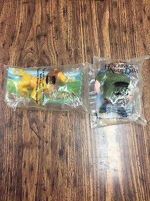 Burger King Lion king And Hunchback In Package