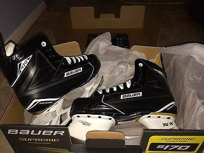 NEW IN BOX Bauer Senior Supreme S170 Ice Hockey Skates  size 10.0 D