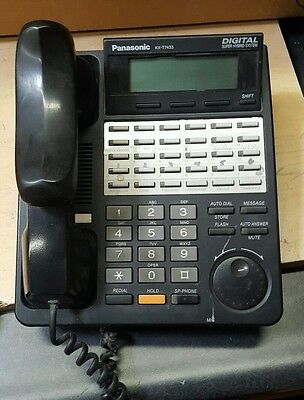 Panasonic Digital Phone Lot Kx-T7633-B + Kx-T7433-B