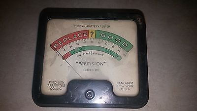 Precision 612 Tube Tester Meter  Tested