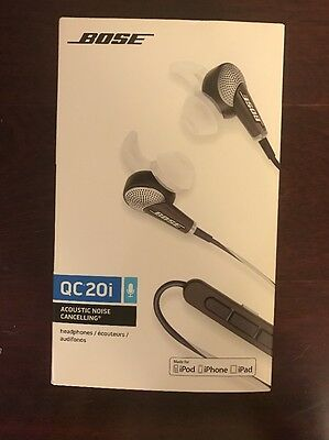 Bose QuietComfort 20i Acoustic Noise Cancelling Headphones – NO RESERVE