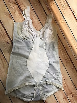 Vintage Full Body Girdle Corset Smoothie Controller Size S/M