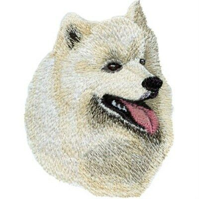 Samoyed Head (M)  Embroidery Patch