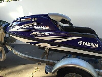 2010 Yamaha Superjet with trailer