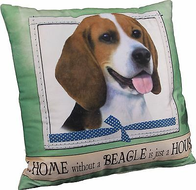 Beagle Soft Couch Dog Breed Throw Pillow