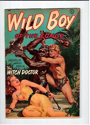 APPROVED COMICS #3 Wild Boy of The Congo 1954 FN Vintage Comic